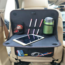Car Back Seat Organizer Storage Holder Foldable With Tray Table Multi-Pocket Bag