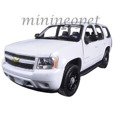WELLY 22509 2008 08 CHEVROLET TAHOE SUV 1/24 UNMARKED POLICE CAR WHITE
