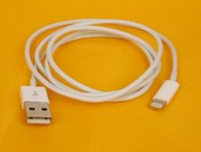 Genuine Apple USB To Lightning Charger and Sync Cable 1 year warranty UK Seller
