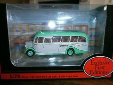 EFE Bedford OB Coach in Grey Green livery
