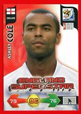 SOUTH AFRICA 2010 - Adrenalyn Panini - Card ENGLAND SUPERSTAR - COLE