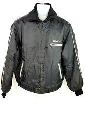 Ski-Doo Snowmobile Jacket Vintage Bombardier Skidoo Black Parka Mens Medium