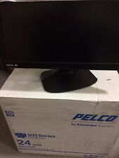 NEW Pelco Schneider Electric PMCL524BL 24 Inch 1080P Industrial Monitor
