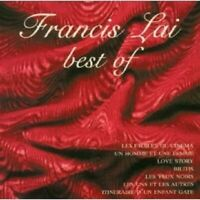 FRANCIS LAI - BEST OF FRANCIS LAI CD SOUNDTRACK NEUF