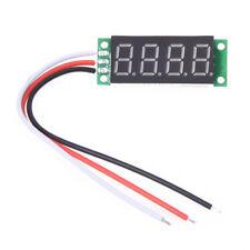 10x(0.36 pollici voltmetro con rosso LED digitale pannello 0 - 33V 4 cifre