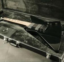 Electric Guitar BLack Color Fingerboard Inlay Black Hardware EMG Pickups Good