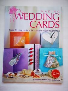 MAKING WEDDING CARDS Craft Book Hobbies Projects