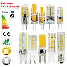 G4 G9 E14 LED Bulb COB SMD 12V 220V Corn Light  2W 3W 5W 7W cold warm white Lamp