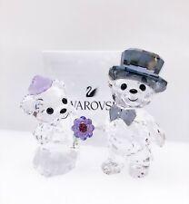 New SWAROVSKI Kris Bear You & I 2 Crystal Figurines, Deco Display 1096736