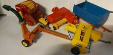 Five Vintage Items Of Britain Farm Toy Accessories incl Forage Harvester