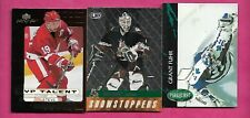 GRANT FUHR  + SEAN BURKE  + STEVE YZERMAN  NHL INSERT CARD   (INV# C4098)
