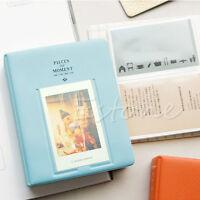 Blue 64 Pockets Album Photo Case For Fujifilm Mini8 Instax 7s 25 50s 90 Storage