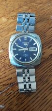 Vintage Seiko 5 Automatic Day Date Mens Watch 6119 7120T working condition