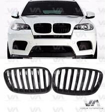 BMW X5 X6 SERIES E70 E71 GLOSS BLACK KIDNEY GRILL GRILLE