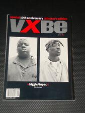 VIBE magazine 10th Anniversary Notorious B.I.G. Biggie Smalls, Tupac Shakur 2pac
