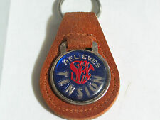 Sex Relieves Tension Suede Keychain (#1411)