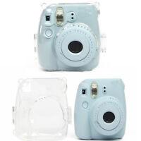 Clear Hard Case Mini 8/9 Polaroid Camera Protector Cover for Fujifilm Instax AI