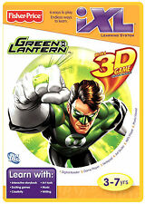 Fisher-Price iXL Learning System Software Green Lantern 3D Game New & Sealed