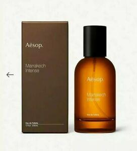 Brand New AESOP Marrakech Intense EdT Perfume 50ml Clove Sandalwood Cardamom