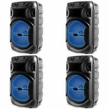 Nuevo 1000 W LED portátil Technical Pro Bluetooth Fiesta Altavoz con el USB, se vende como 4