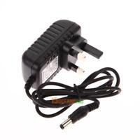 AC 100-240V Converter Adapter DC 5.5 x 2.5MM 6V 1A 1000mA Charger UK Plug Switch