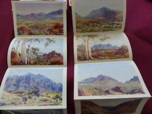 Albert Namatjira  2 sets of  6 postcards