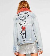 Button Classic Neckline Women's Denim Jacket