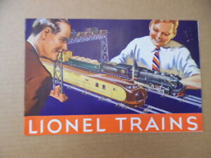 1934 Lionel Electric Trains Catalog Type I Vintage Original VG
