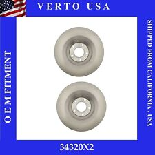 Rear Brake Rotors For Audi A6 2006 to 2011 , A6 Quattro 2005 to 2011 . 330mm