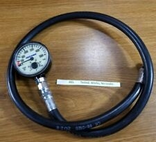 Oceanic 5000 Psi Spg Submersible Pressure Gauge w Thermometer Scuba Dive 885