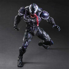 10in Play Arts Kai Collectible Model New Toy Marvel Venom Figure Variant in Box