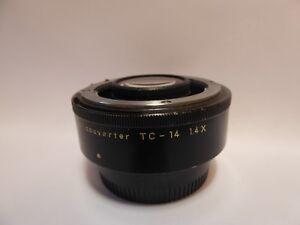 Nikon Telephoto Converter TC-14 1.4x (Converter) tested wth cap