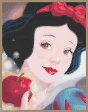 "Disney's Princess Snow White in ""Portrait of Innocence"" Cross Stitch Pattern CD"