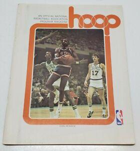 Vtg New Orleans Jazz NBA HOOP Basketball Program Magazine 1976 Earl Monroe Rare