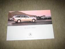 Mercedes C-Klasse T-Modell S203 Prospekt Brochure von 5/2000, 64 Seiten