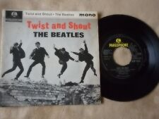 "THE BEATLES ""TWIST AND SHOUT"" 7"" PICTURE SLEEVE 45 U.K. IMPORT MONO PARLOPHONE"