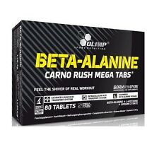 (7,04€/100g) 138g OLIMP Beta Alanine Alanin Carno Rush Mega 80 Tabletten Booster