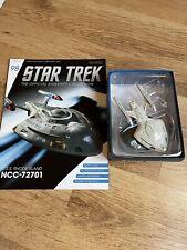 More details for star trek eaglemoss issue 98 uss rhode island model with magazine