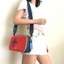 Coach X Marvel 2544 Spider-man Jes Leather Crossbody Bag Handbag