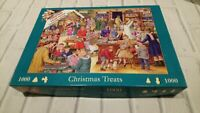 "HOP Christmas Collection ""Christmas Treats"" 1000pcs Jigsaw Puzzle FREE POSTAGE"