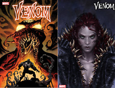 (2019) VENOM #19 Regular & Jee-Hyung Lee Mary Jane Variant Cover!