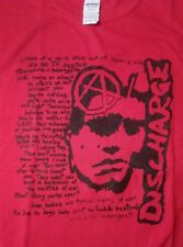 DISCHARGE tv sketch punk T-Shirt. Adult small medium and 2XL