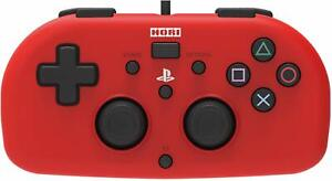 Hori PS4 Mini Wired Gamepad Controller Red for Sony Playstation 4 Game System