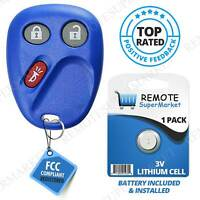 Replacement for 2003 2004 2005 2006 Chevy Avalanche Tahoe Remote Car Fob Navy
