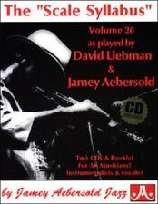 """AEBERSOLD  VOL. 26 - THE """"SCALE SYLLABUS"""" - Libro + 2CD"""