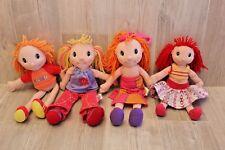 Lot 4 poupées flexibles (chiffon) Maggies Raggies - Zapf Creation