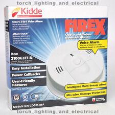 VOICE ALARM KIDDE FIREX KN-COSM-IBA Combo Smoke & CO DETECTOR Battery 21006377-N