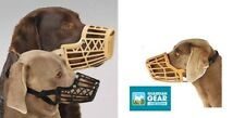 Guardian Gear LARGE DOG BASKET MUZZLE Quick Fit/Release Adjustable Train Safety