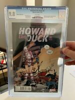 Howard the Duck #2 CGC 9.8 - 2nd App Gwenpool - Tom Fowler Variant Cover - 2016