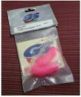 Vintage RC Car GS Racing GSCA10FP Hot Pink Silicone Air Filter 1/10 Tubes (2)NEW